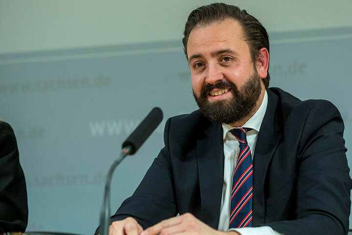 Justizminister Sebastian Gemkow (38, CDU).