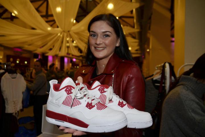 Oder sind das die richtigen Schuhe?