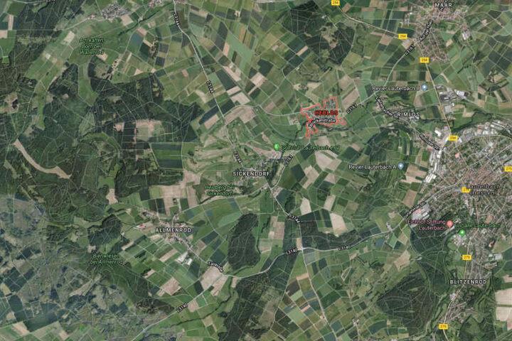 Der Unfall passierte im Lauterbacher Stadtteil Heblos.