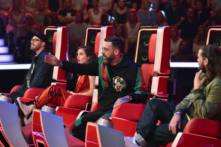 Sido hält mit seiner Meinung selten hinterm Berg – das bekam Nicolas zu spüren in der Blind Audition 7 von The Voice 2019.