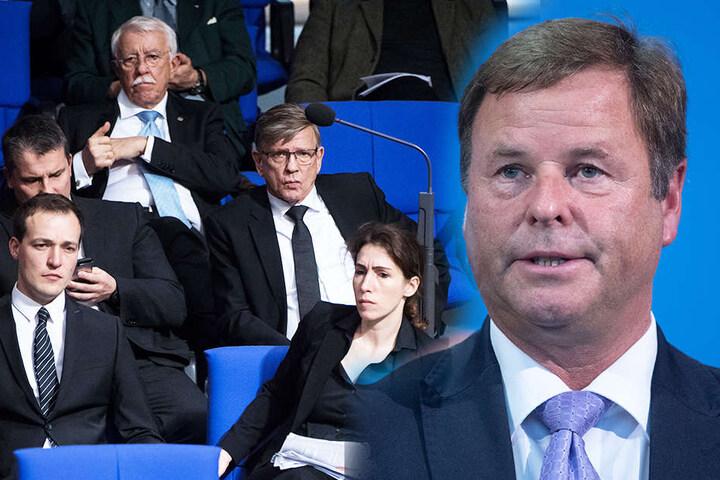"""""""Diese AfD ist eindeutig außerhalb des demokratischen Spektrums"""", sagte Görke (re.)."""