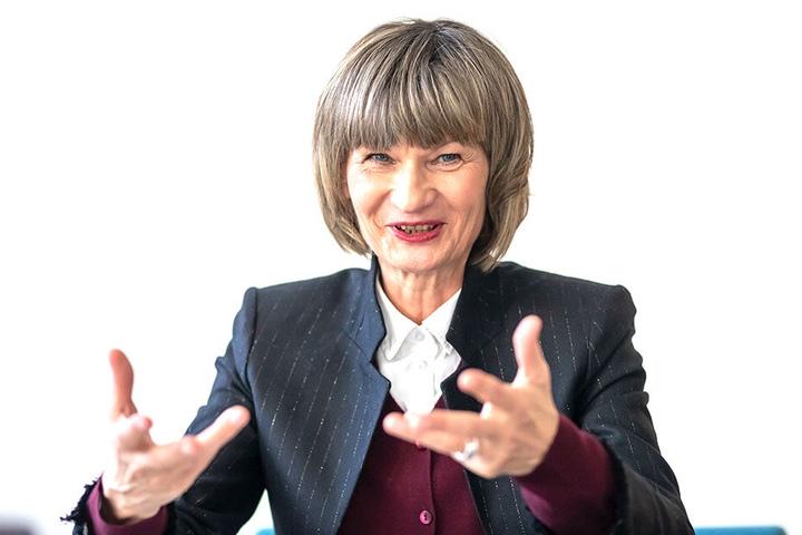 Ob Barbara Ludwig zeigt sich über das Engament begeistert.