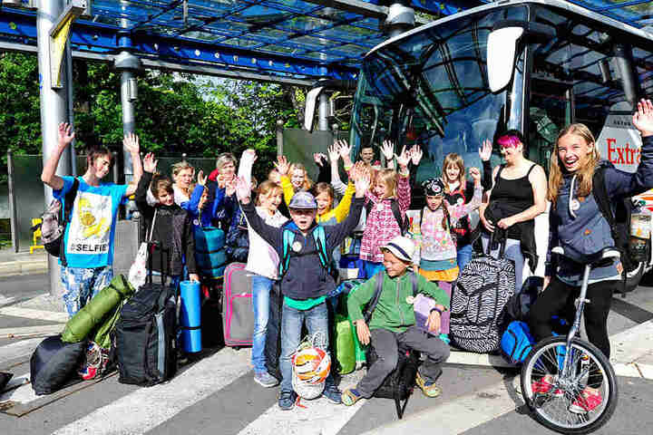 """Schon 30.000 Kinder haben mit """"Die Verreiser"""" ihre Ferien verbracht."""
