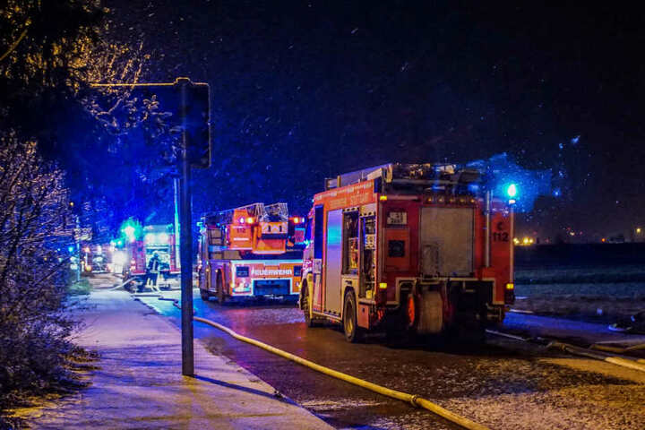 Warum der Brand ausbrach, wird jetzt ermittelt.
