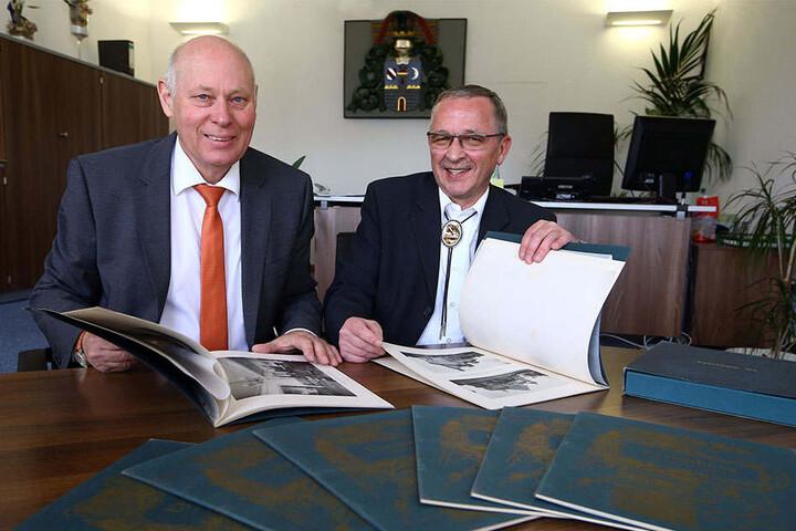Glauchaus Oberbürgermeister Peter Dresler (62, CDU) hat schon konkrete Vorstellungen, wie sich seine Stadt in die Zwickau AG einbringen und von ihr profitieren könnte.