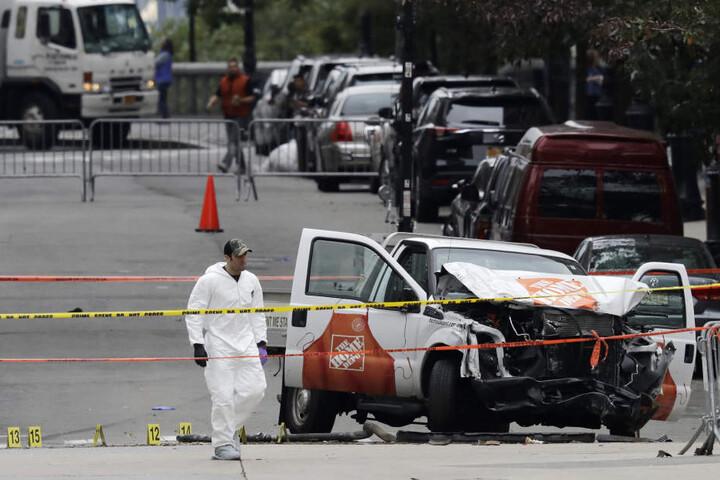 Bei dem Anschlag starben acht Menschen, zwölf wurden verletzt.