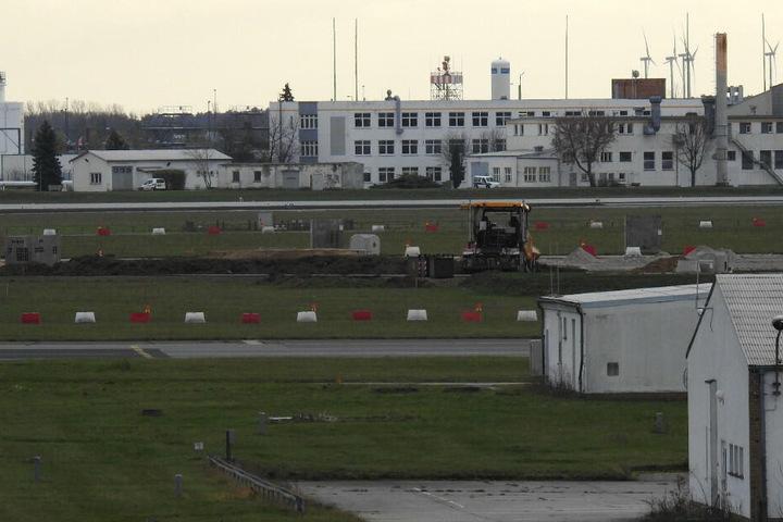 Auf dieser Baustelle ist die Bombe entdeckt worden.