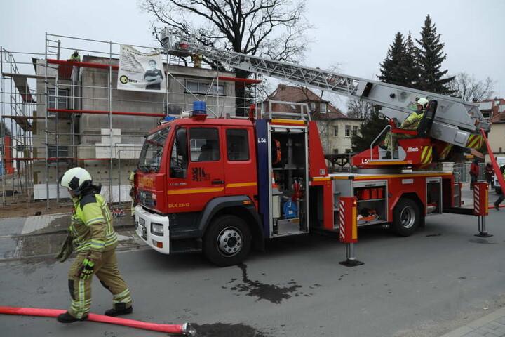 Die Feuerwehr löschte den Brand zügig.