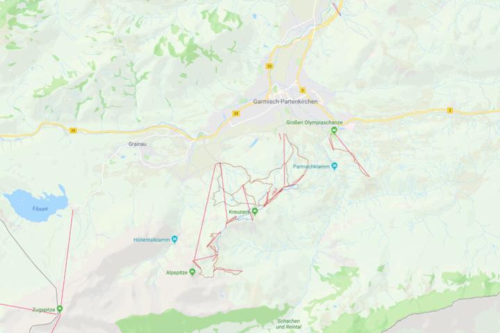 In Garmisch-Partenkirchen in Bayern ist es zu schlimmen Zwischenfällen gekommen.