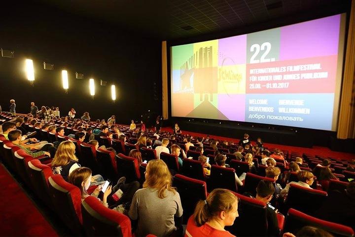 Tausende junge Kinogäste schauen sich alljährlich beim Schlingel-Festival die neuesten europäischen Kinofilme an.