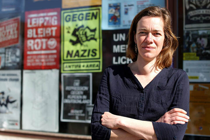Die Linken-Landtagsabgeordnete Juliane Nagel (39)