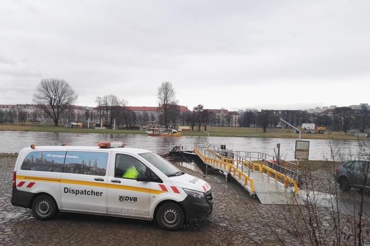 Jetzt kann Fähre Johanna nicht mehr an der Neustadtseite anlegen.