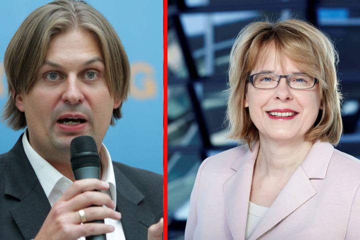 Maximilian Krah und Bettina Kudla fischen mit ihren Aussagen am rechten Rand.