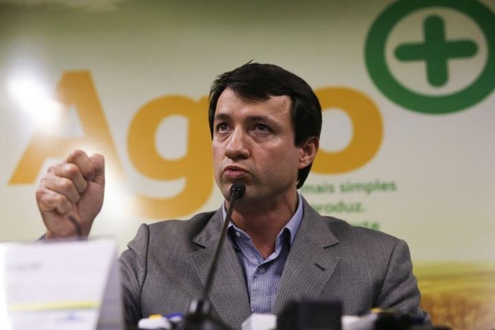 Der Exekutivsekretär des brasilianischen Agrarministeriums, Eumar Novacki.