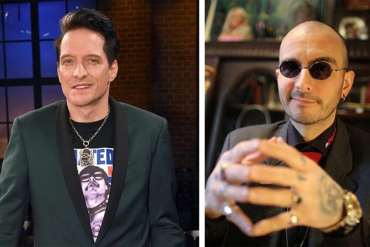 """Schlagzeuger der Band """"Die Ärzte"""", Bela B., und Kriminalbiologe Mark Benecke sollen für Gesundheit, Tattoos und Verwesung zuständig sein."""