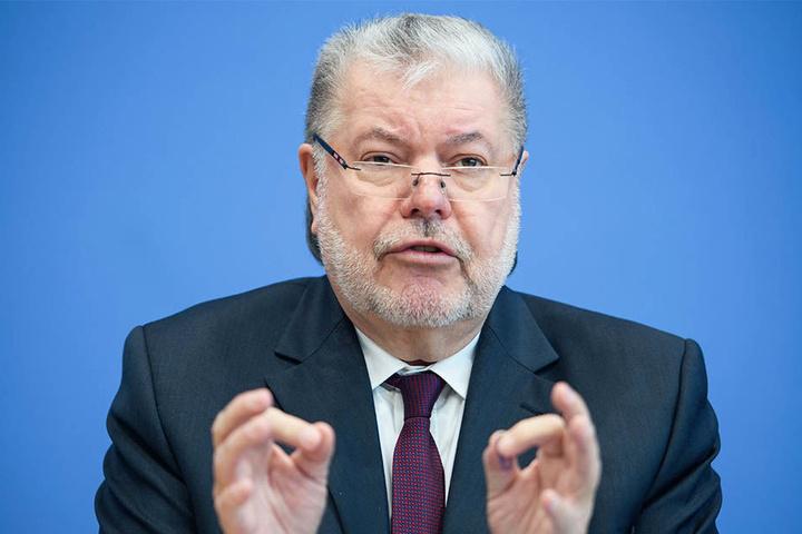 Kurt Beck (69) strebt eine Föderalismusreform an.