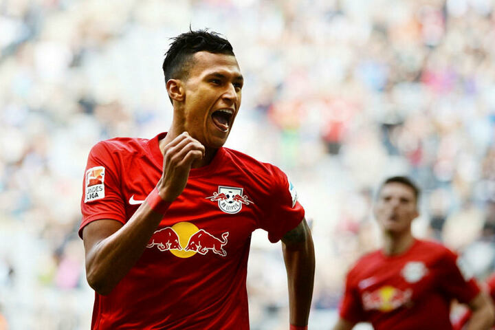 Stürmer Davie Selke (23) von Hertha BSC. Für beide sind 50 Millionen Euro als Ablöse im Gespräch.