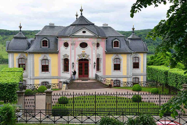 Das romantische Schloss Dornburg lädt zum abendlichen Verweilen ein.