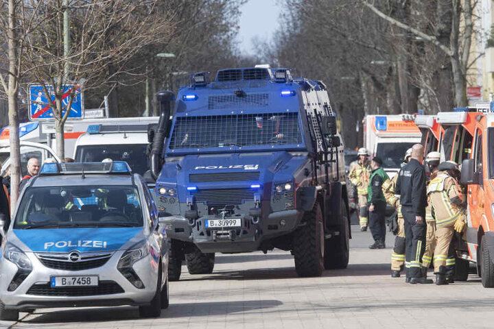 Erst gestern trainierte die Berliner Polizei vor dem Unfall (auf diesem Bild zu sehen). (Symbolbild)