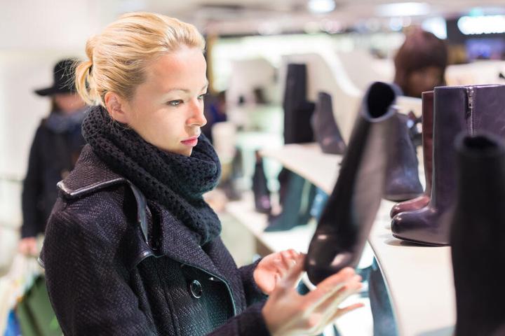Der Schuhverkauf in deutschen Geschäften hat mit großem Minus zu kämpfen. (Symbolbild)