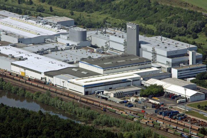 Das Opel-Werk in Eisenach.