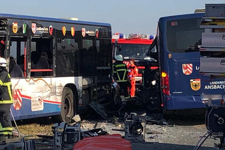 Mehrere Kinder wurden bei dem Unfall schwerverletzt.