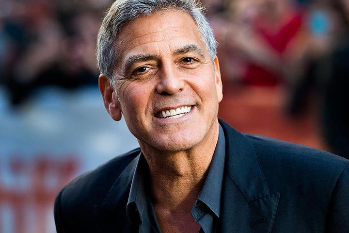 """George Clooney bei der Premiere des Films """"Suburbicon"""" auf dem 42. Filmfestival in Toronto im September 2017."""
