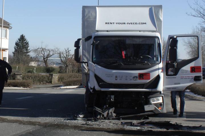 Der Lkw-Fahrer hatte keine Chance mehr auszuweichen.