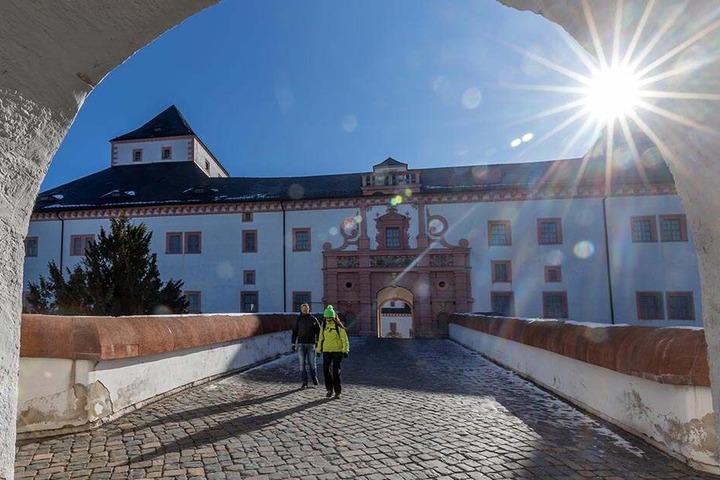 Ein Bild aus besseren Tagen: So schön kann es auf der Augustusburg im Winter sein.