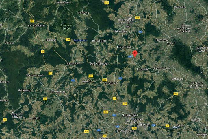 Zurzeit ermittelt die Kripo Schweinfurt die Ursache des Feuers im Maßbacher Ortsteil Poppenlauer.