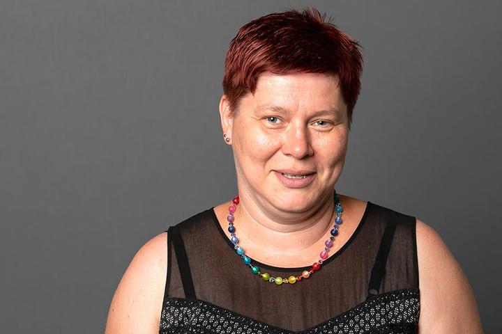 Hält ihre Rest-SPD zusammen: Fraktions-Chefin Dana Frohwieser (42).