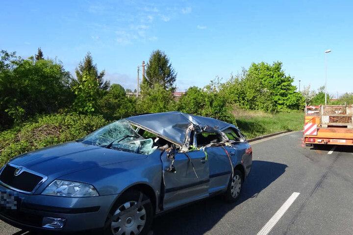 Der 45-Jährige hatte keine Chance, er verstarb noch am Unfallort.