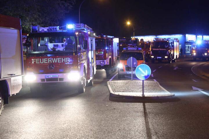 Die Feuerwehr war über zwei Stunden im Einsatz.