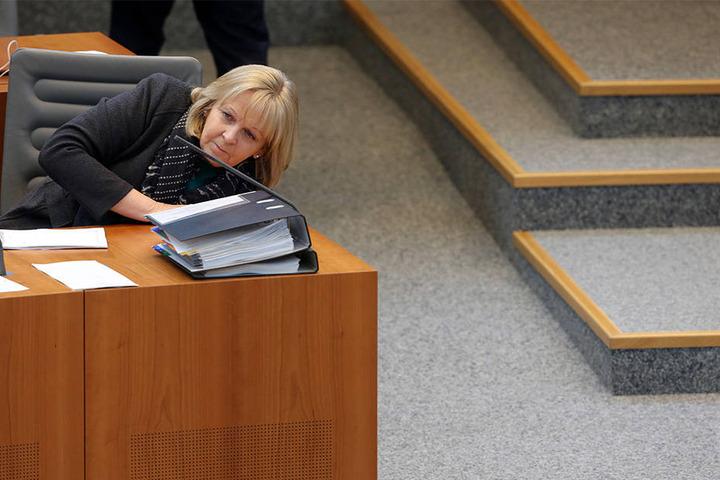 Ministerpräsidentin Hannelore Kraft (SPD) und die Grünen sind für die FDP keine Alternative für eine Regierung.