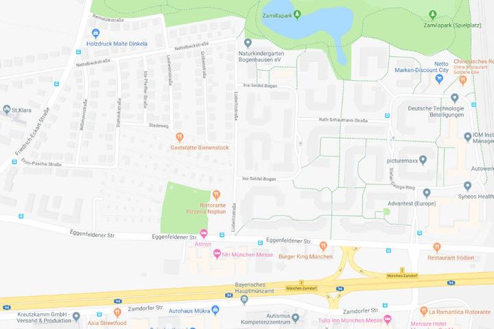 Der Vorfall ereignete sich in der Lüderitzstraße.