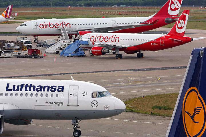 Bekommt Air Berlin einen finanziellen Griff unter die Arme, könnten sich andere Fluggesellschaft benachteiligt fühlen.