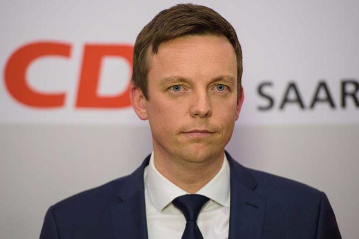 Der Ministerpräsident des Saarlandes, Tobias Hans (CDU).