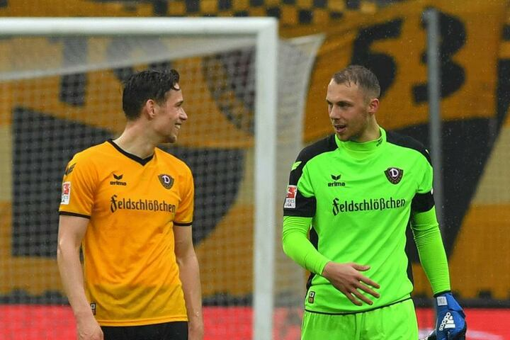 Jannik Müller (li.) und Marvin Schwäbe.