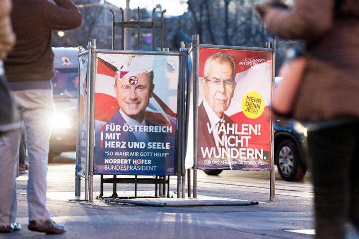 Wer wird Bundespräsident von Österreich? Die Wähler müssen entscheiden.