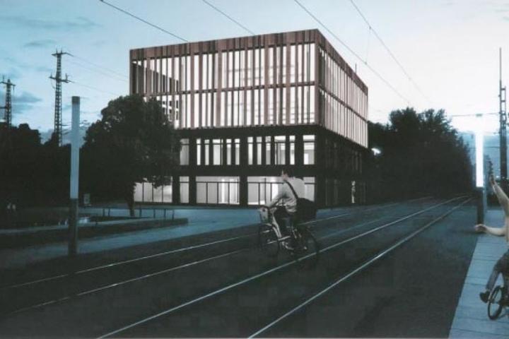 Ob es wenigstens damit was wird? Die Pläne für ein Radel-Parkhaus am Hauptbahnhof sind fertig.