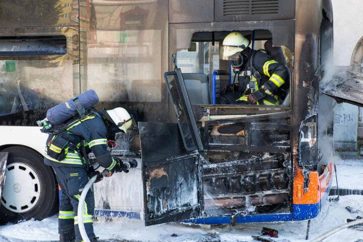 Bei dem Brand entstand ein Schaden von zirka 45.000 Euro.