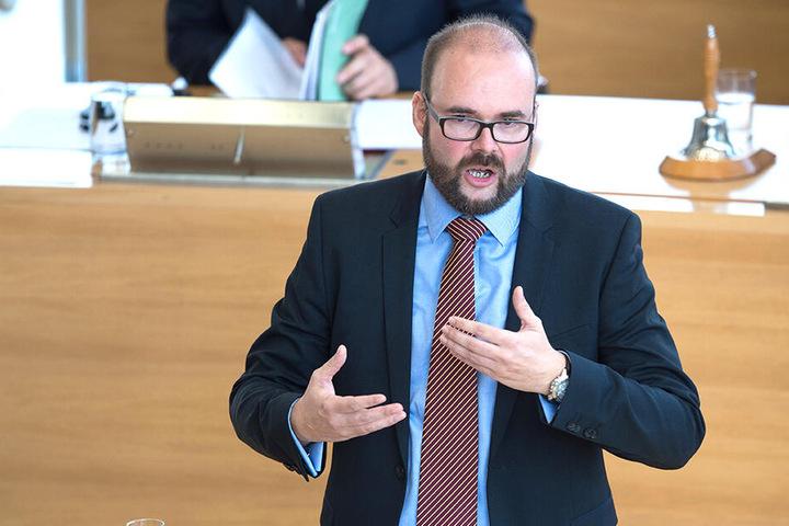 Sachsens Kultusminister Christian Piwarz (43,CDU).