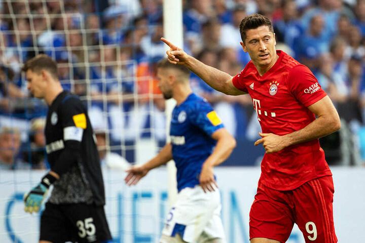Auf den Doppelpack folgt der Dreierpack: Robert Lewandowski war mal wieder der Matchwinner des FC Bayern München.