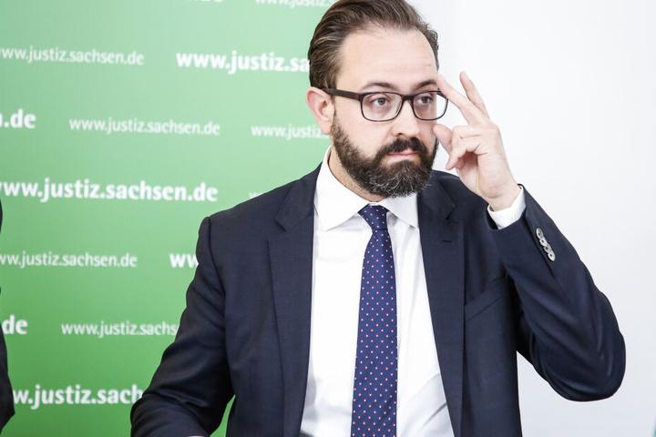 Hausherr: Justizminister Sebastian Gemkow (41, CDU)