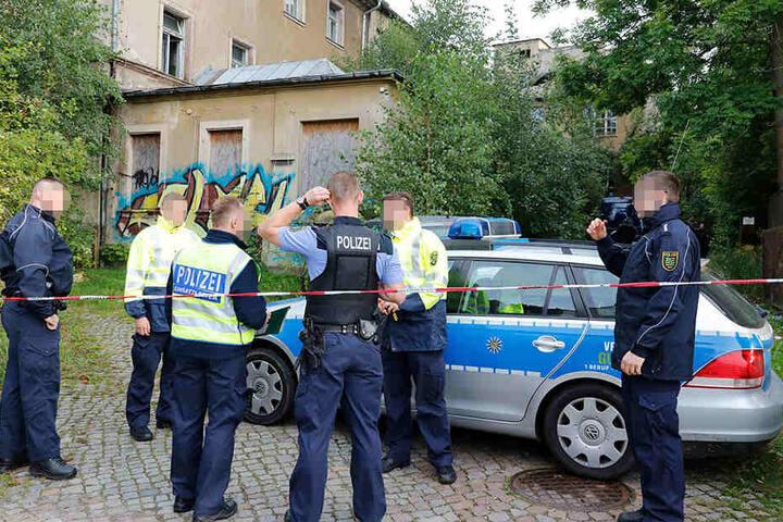 Steht die hektische Polizeiarbeit vor Ort für ein neues Verbrechen in Chemnitz?