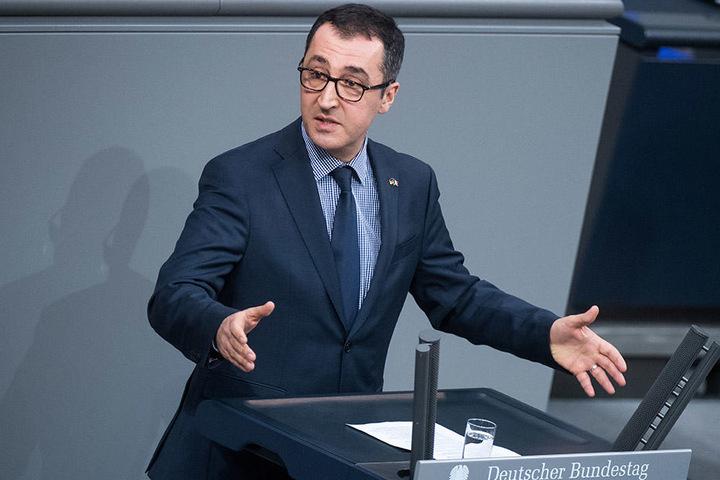 Cem Özdemir (52) hatte mit seiner Bundestagsrede für Aufsehen gesorgt.