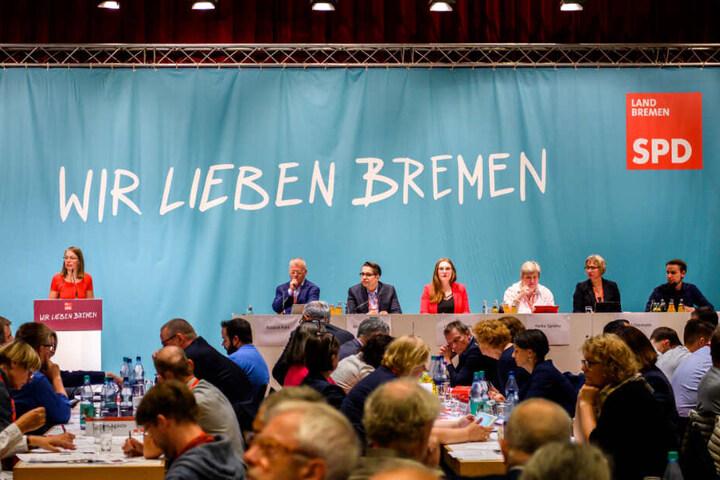 Die SPD stimmte auf ihrem Parteitag für den Koalitionsvertrag.