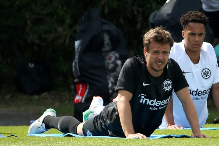 Auch der Neuzugang vom HSV, Nikolai Müller, war beim ersten öffentlichen Training mit von der Partie.
