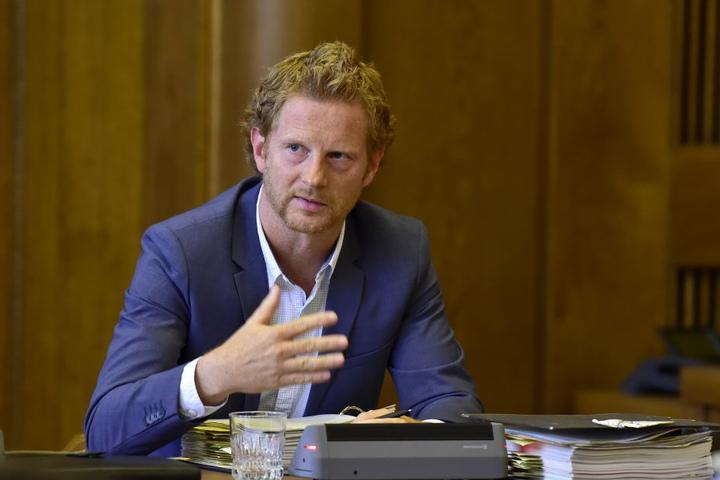 Baubürgermeister Michael Stötzer (44, Grüne) hat dem Bauvorhaben bis auf Weiteres eine Abfuhr erteilt.