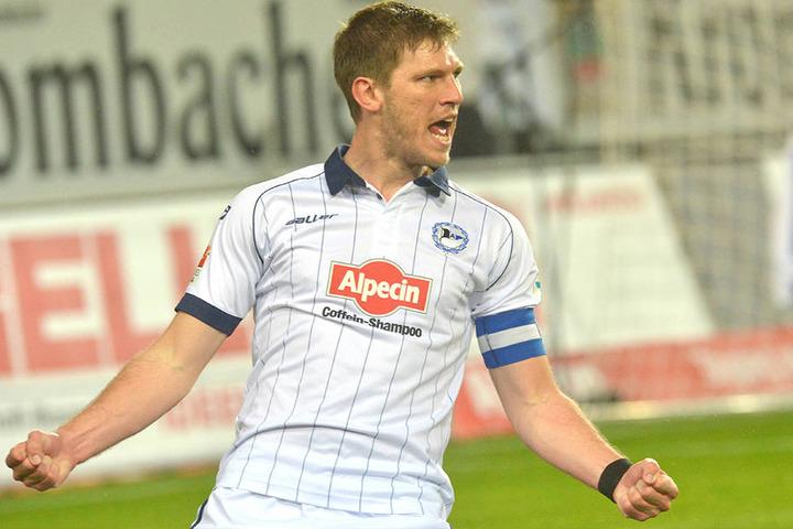 Seit 2011 ist Sturmtank Fabian Klos nicht mehr aus Bielefeld wegzudenken.